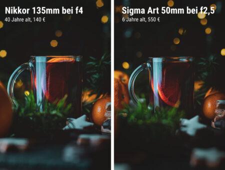 Alte Objektive an neuen Kameras? Günstige Alternative oder veralteter Schrott?