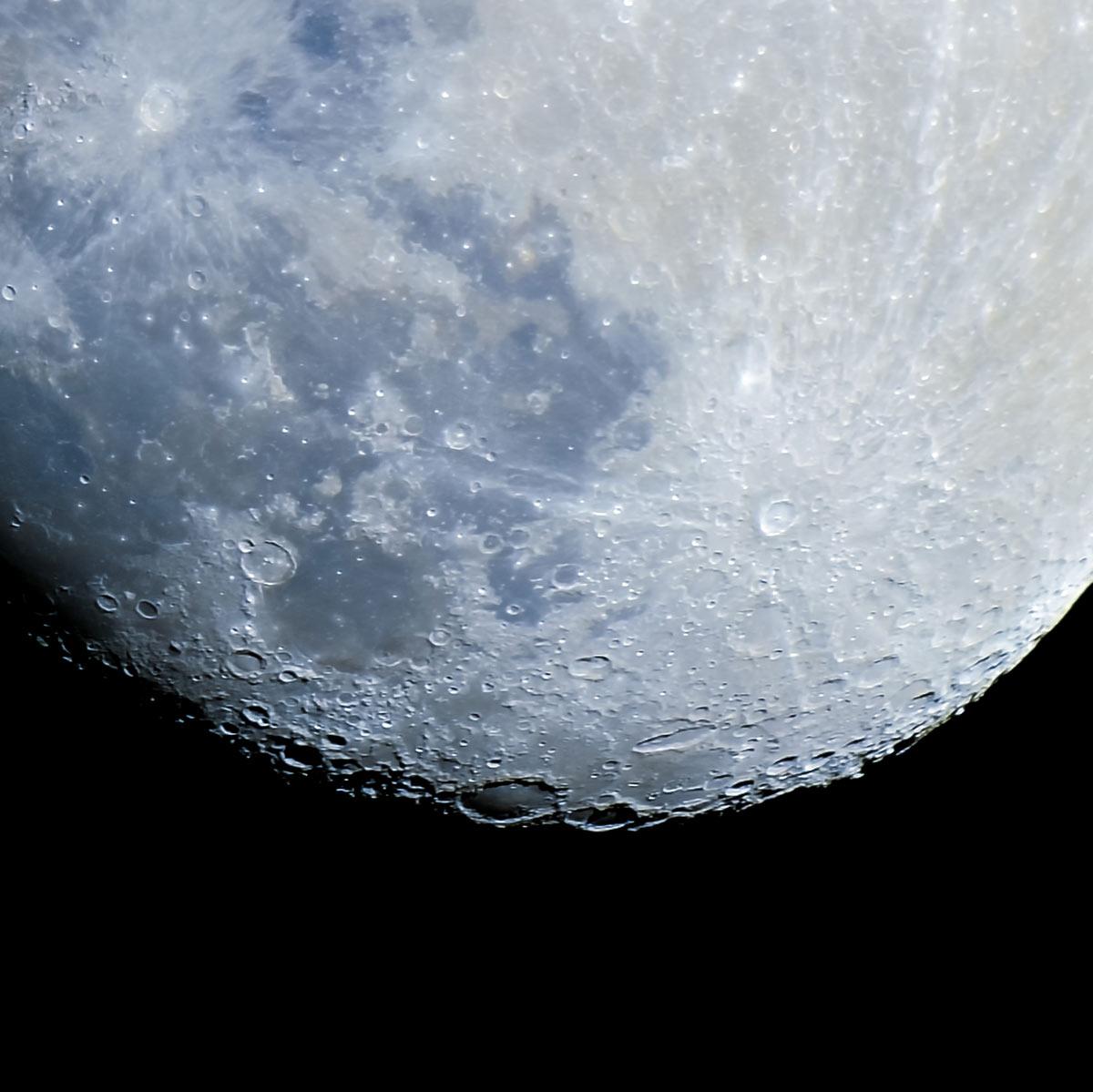 100% Mond ausschnitt bei 1000mm