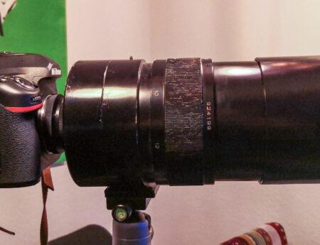 Die Russentonne – Maksutov 1000mm Spiegelobjektiv