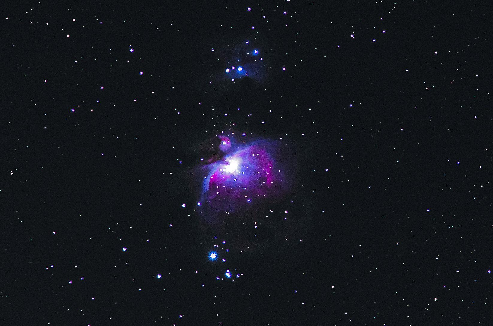 Astrofotografie mit einem alten Nikkor Ai 200mm f4.0
