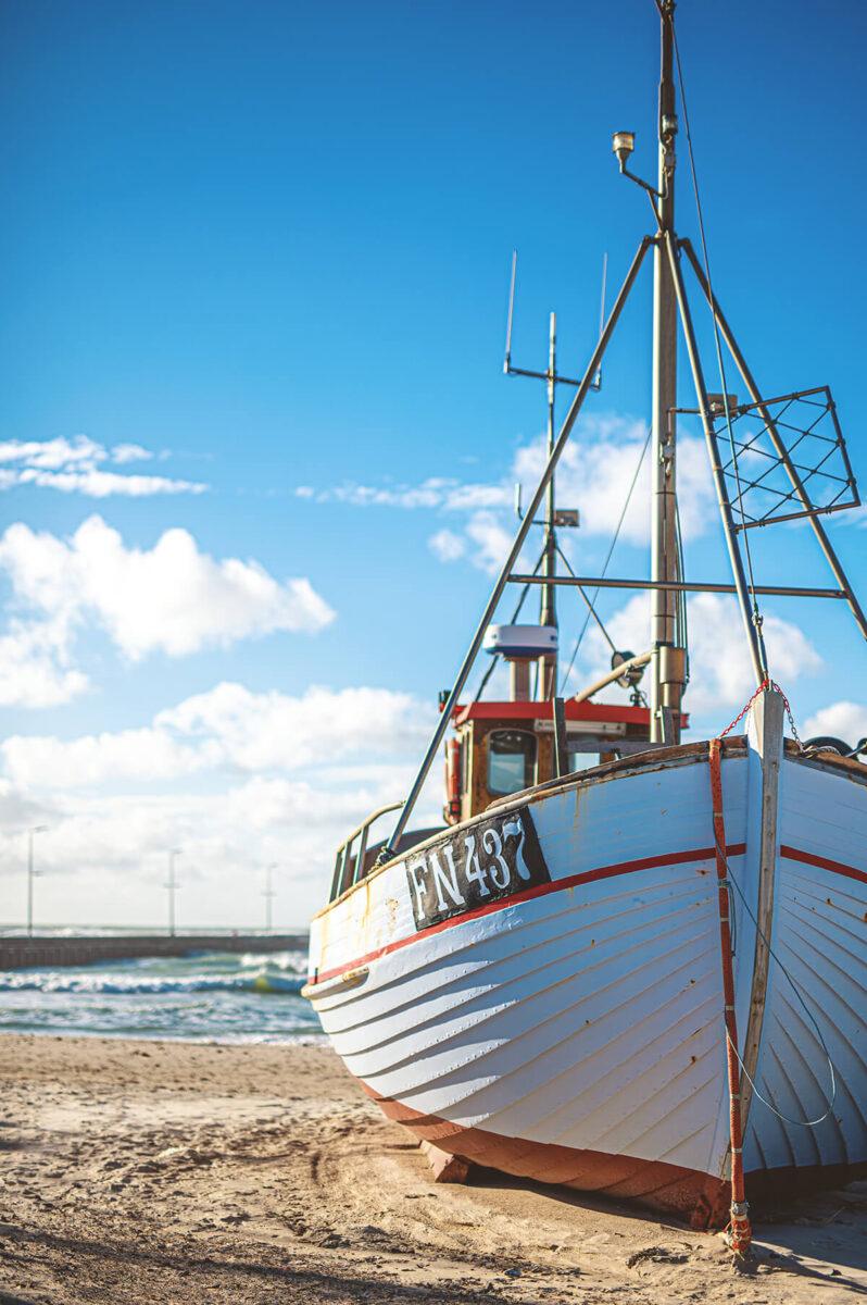 Fischerboot in Dänemark - Nikon D780