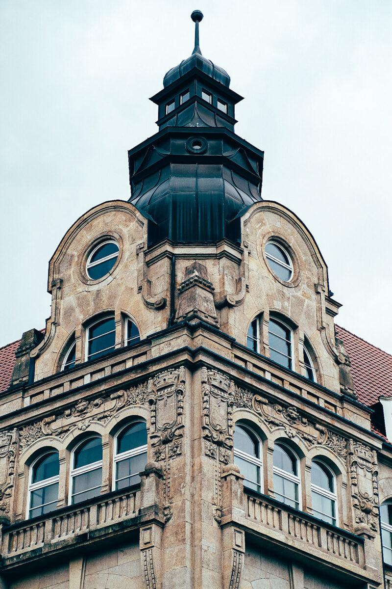 Architekturaufnahme mit dem Viltrox 56mm