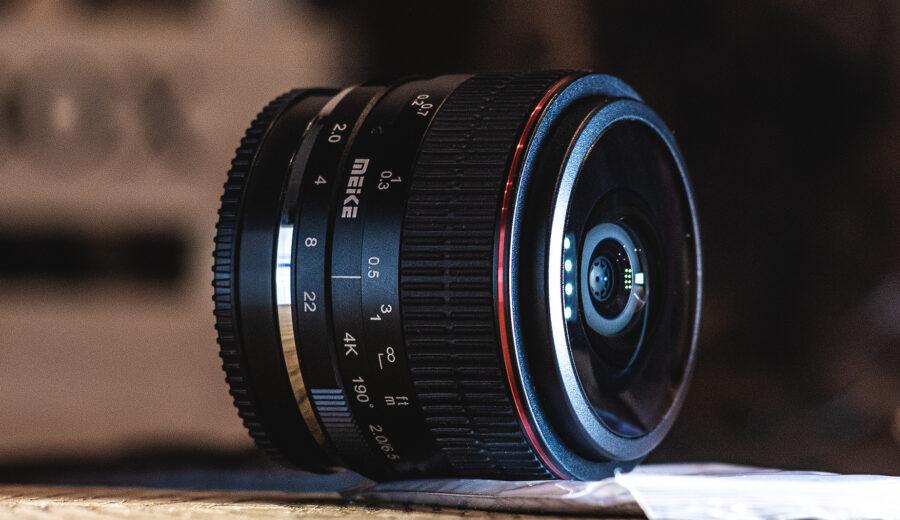 Meike 6,5mm, f2.0 Circular Fisheye Objektiv