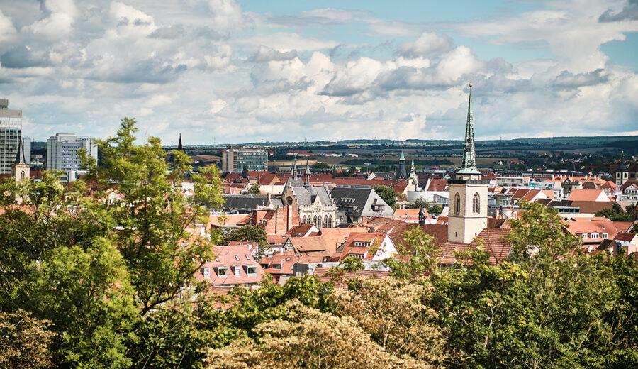Besuch in Erfurt – Bundesgartenschau 2021