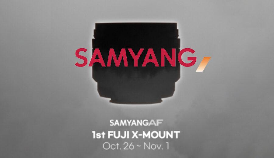 Erstes Samyang Objektiv mit Autofokus für Fuji X-Mount kommt.