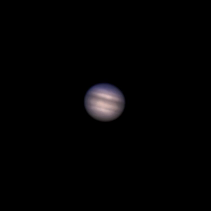 Jupiter bei 1.500mm Brennweite